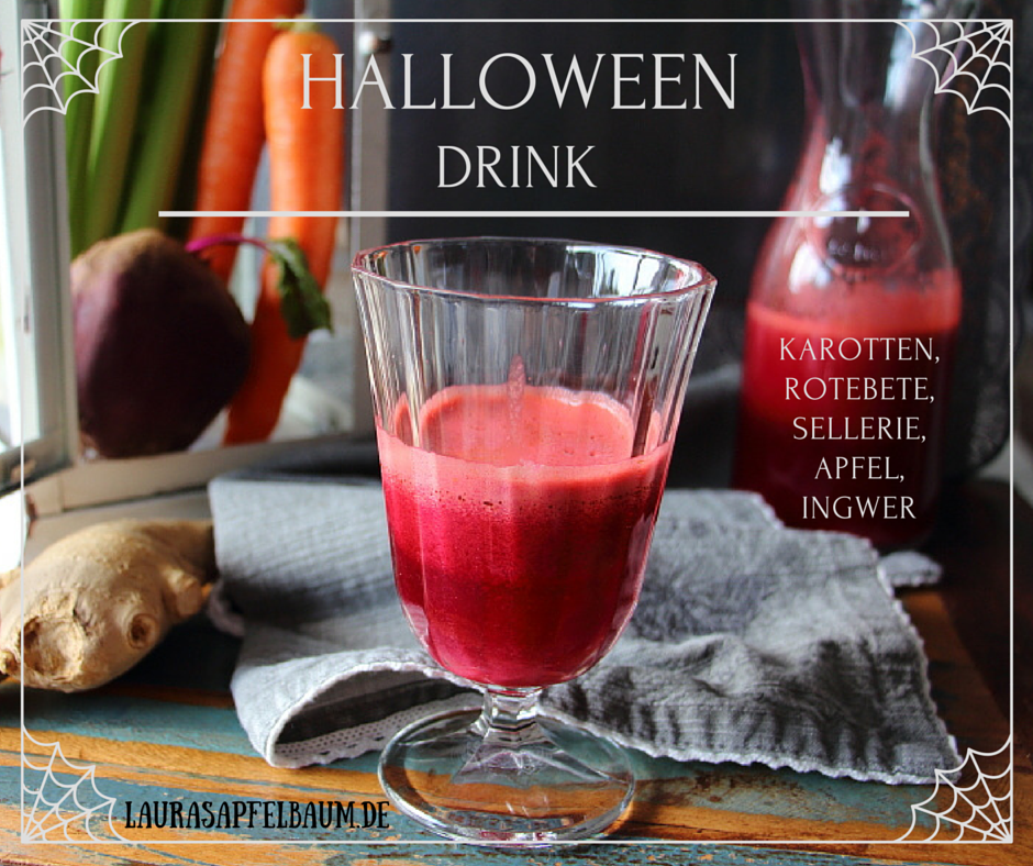 rotebete halloween drink healthy
